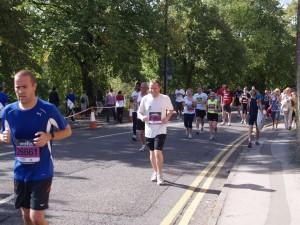 Adam Chudley running